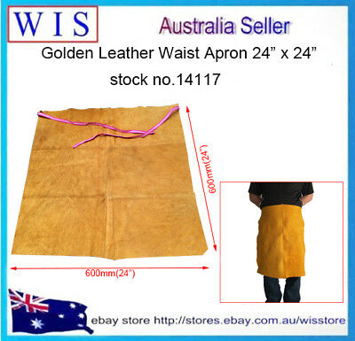 "24"" x 24"" Leather Waist Apron,Leather Half Apron for Welding,Timber & Steel Work"