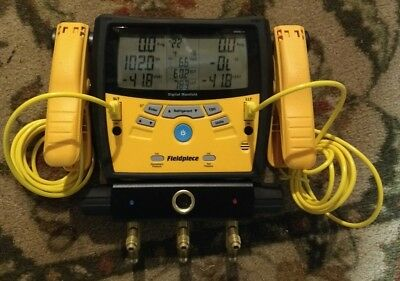 Fieldpiece SMAN340 Digital Refrigeration Gauge Manifold