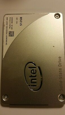 Dell Intel 512GB Solid State Drive 2.5 6gb/s Sata