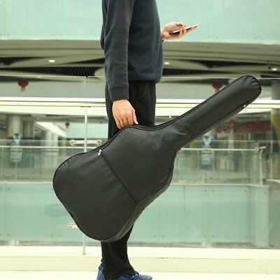 Waterproof 420D Nylon Acoustic Guitar Gig Bag Soft Cover with Adjustable Strap i