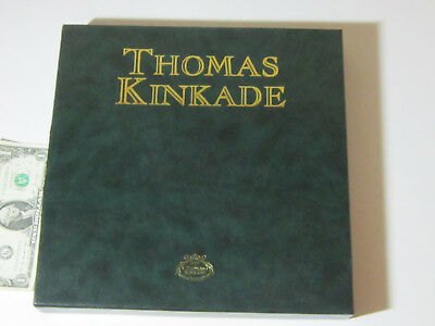 """Thomas Kinkade """"A Holiday Gathering"""" collector's plate #13340B from 1999"""
