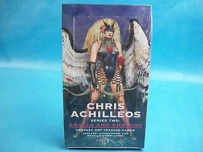 1994 FPG Chris Achilleos Series Two: Angels and Amazons Fantasy Art Sealed Box