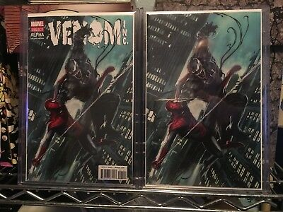 Amazing Spider-Man Venom Inc Alpha 1 Adi Granov Variant Set Ltd 600 Nm+