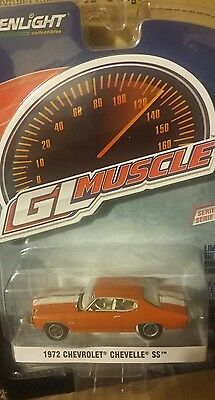 Greenlight Brand New Muscle Series 18 1972 Chevrolet Chevelle Ss  Wow