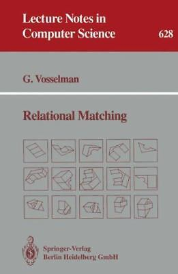 Relational Matching: By George Vosselman