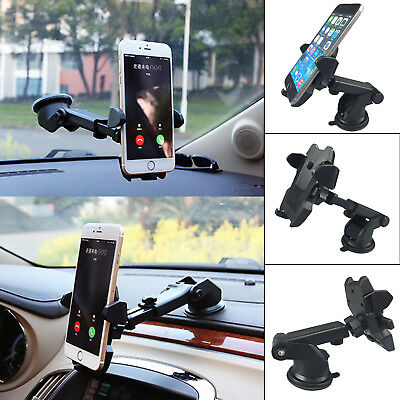 360° Universal Car Windscreen Dashboard Holder Mount GPS PDA Mobile Phone