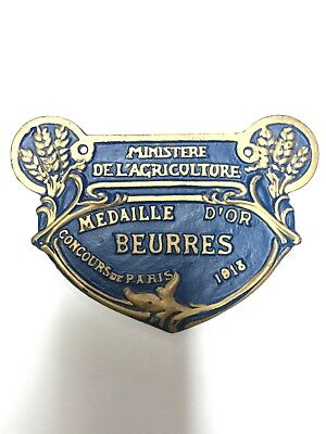 French Vintage Agriculture Plague