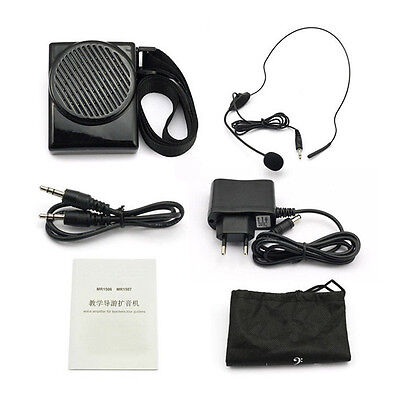 Portable Aker MR1506 Mic Voice Booster Amplifier Speaker For Teacher Coach Guide