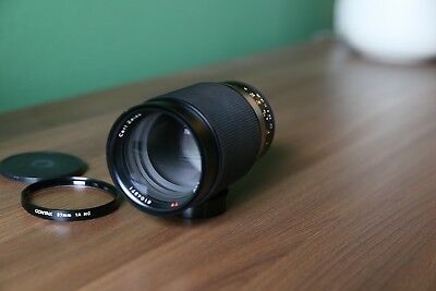 EX! Carl Zeiss Tele-Tessar T* 200mm f/3.5 Lens for Contax C/Y Mount