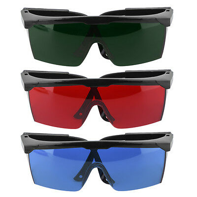 Protection Goggles Safety Glasses Green Blue Red Eye Spectacles Protective  VC