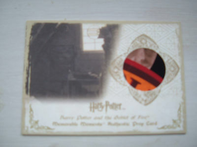 Harry Potter memorable Moments Chudley Cannons Poster Prop relic card P5 30/150