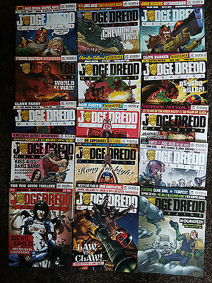 Joblot 15 X Judge Dredd Megazine  Jan 2009-Mar 2010 Run 279-295 Missing #284-285