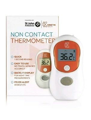 Kinetik Well Being Thermometer Digital Non Contact Infra Red Accuracy
