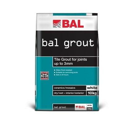 BAL White Wall Grout