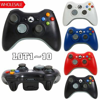 Wholesale Genuine Wireless Game Controller For Microsoft Xbox 360 Gamepad LOT VP