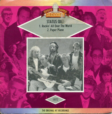 Status Quo - Rockin' All Over The World / Paper Plane (Vinyl)