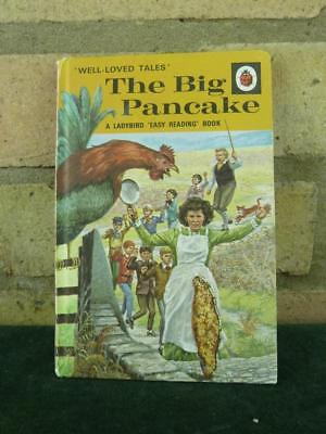 Vintage Ladybird book well loved tales The Big Pancake series 606D price 40p