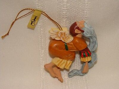 James C. Christensen Professor of Imagination Ancient Angel Boxed Ornament