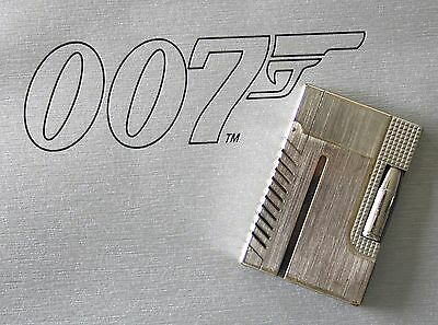 "S.t. Dupont Feuerzeug Gatsby ""james Bond 007 Palladium"" Lighter Fullset"