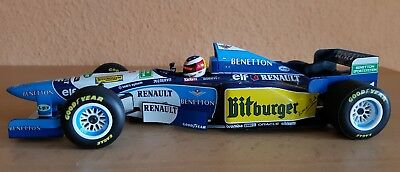Benetton Renault B195 GP Hockenheim 1995 1:18 Michael Schumacher Top-Zustand!