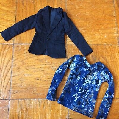 BJD Outfit Lot 9 [SD17 SD70 Boy Jacket and Shirt Long Sleeve Top]