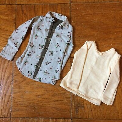 BJD Outfit Lot 10 [SD17 SD70 Boy Floral Shirts and long sleeve top] Greentime