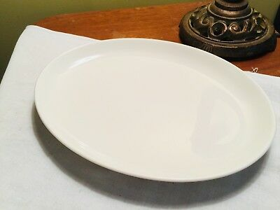Vintage Iroquois , Casual China Russel Wright , White OVAL PLATTER
