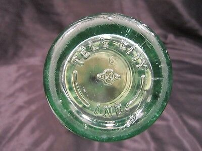 Coke Tell City Indiana 1953 Coca Cola 6 Ounce Bottle Hobble Skirt Embossed Logo