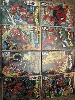 21 Spider-Man # 1 bagged UPC 2 3 4 5 6 7 8 9 10 11 12 14 15 16 McFarlane Set NM