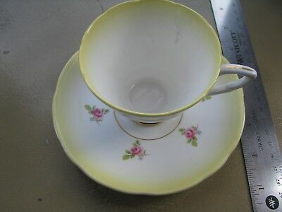 Royal Stafford Collectible Tea Cup and Saucer Bone China Made in England