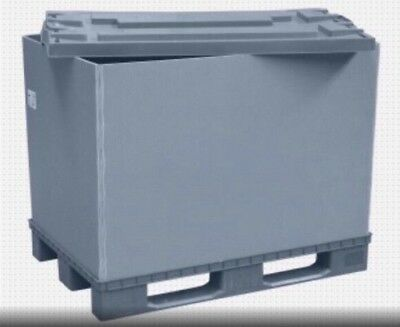 Euro Palettenbox Faltbox Kunststoffkiste Container Lager PolyBox PALLET BOX