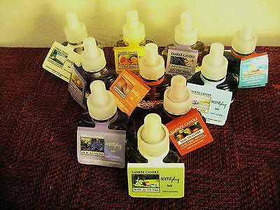 Yankee Candle Plug In Oil Refills - 45 Scents - You Choose - Free Fast Shipping
