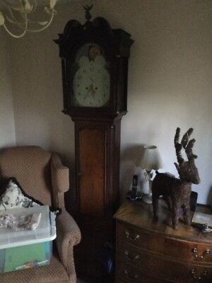 grandfather clock Humphry Jones of Oswestry 1800's, working order