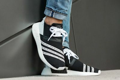 new arrival e3279 4a0c0 ADIDAS X WHITE Mountaineering NMD NMD R2 PK Core Black White CG3648  UK7/8/8.5/9