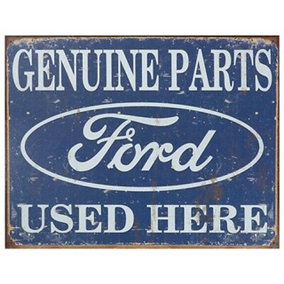 Vintage Art 'Ford' Decorative Tin Sign - Full Of Good Old American Nostalgia!