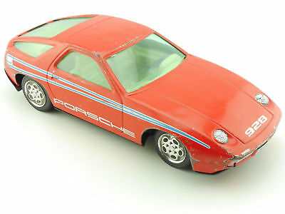 Joustra Porsche 928 Friction Blechauto Schwungrad Tin Car 1604-05-57