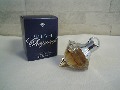 NEU Edp Damen WISH CHOPARD 30ml Duft Eau de Parfum Luxus Woman Bernstein Edel