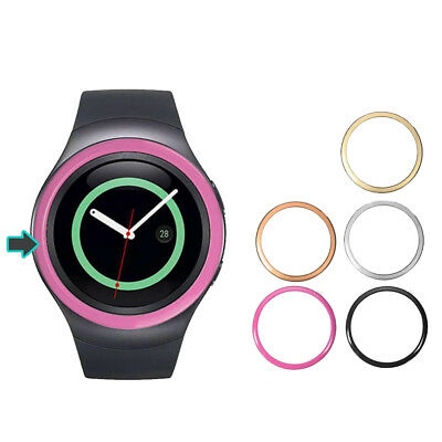 Watch Case Cover Protector Bumper Ring For Samsung Gear S2 Watch Stainless Steel