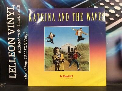 "Katrina And The Waves Is That It? 12"" Single Vinyl 12CL398 A2/B1 Pop 80's"