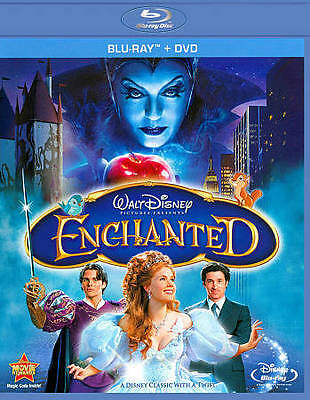 Disney Enchanted New/sealed Blu-Ray/dvd 2Disc Combo Pack Free Shipping