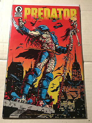 Predator #1 + 3  (Jun 1989, Dark Horse Comics ) Invaders from Fourth Dimension