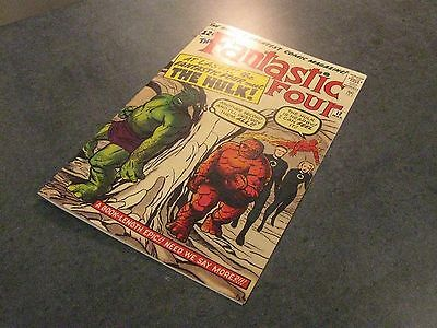Facsimile reprint covers only to FANTASTIC FOUR #12
