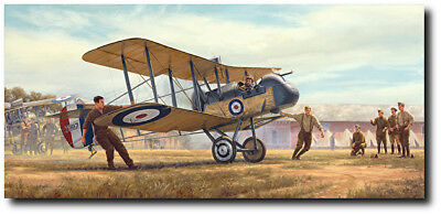 By the Dawn/'s Early Light by Russell Smith Giclee paper Aviation Art Print