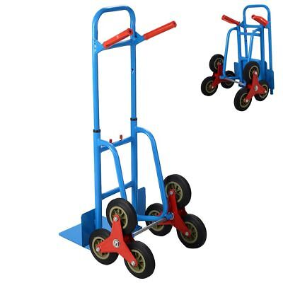 6 Wheel Stair Climber Cart Climbing Flat Bed Sack Lorry