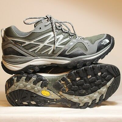 09c73b1ad THE NORTH FACE Hedgehog Fastpack GTX Low Hiking Shoes Mens Gore-Tex US 13  Green