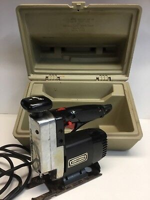 Sears Craftsman Scroller Saw - Double Insulated with Hard Case