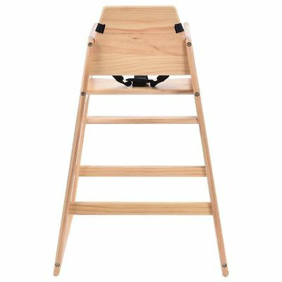 Stackable Baby High Chair Toddler Highchair Wooden Feeding Seat  sc 1 st  PicClick UK & STACKABLE WOODEN BABY Feeding Highchair High Chair home u0026 commercial ...