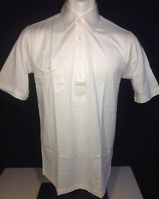 VINTAGE TITLEIST COLLECTION White GOLF POLO SHIRT MENS Large.New w/o Tags.