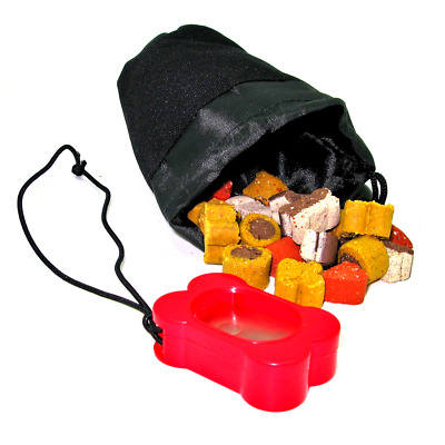Rosewood -  CLICK & TREAT -  Training Clicker  - Treat Bag - Dog Training Treats