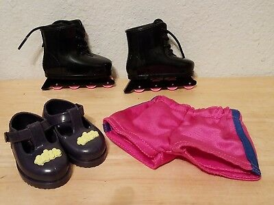 """Shoes, Roller Skates & Shorts Fits 18"""" Interactive Ally Doll"""